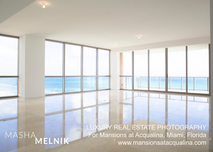 LUXURY REAL ESTATE PHOTOGRAPHY For Mansions at Acqualina, Miami, Florida www.mansionsatacqualina.com