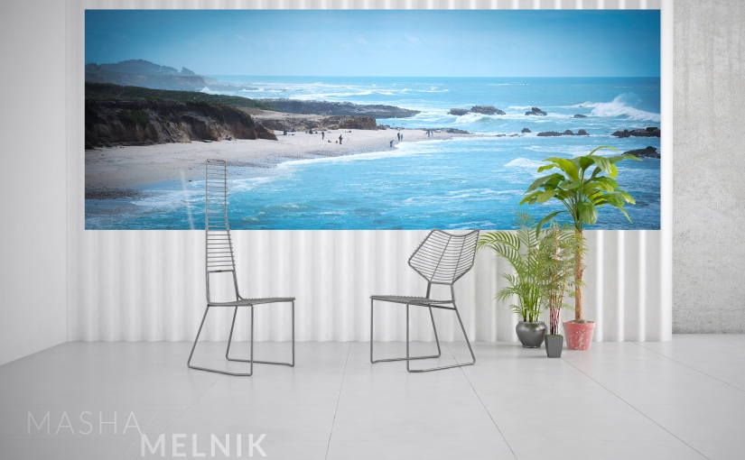 WHAT TO COLLECT # 1 Photo Murals by Masha Melnik in Design