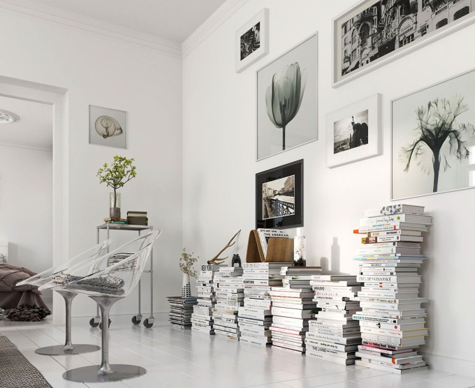 stylish-way-to-use-books-as-tables