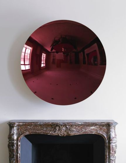 ANISH KAPOOR - UNTITLED, stainless steel and paint, 120 by 120 by 27.5cm., Executed in 2010