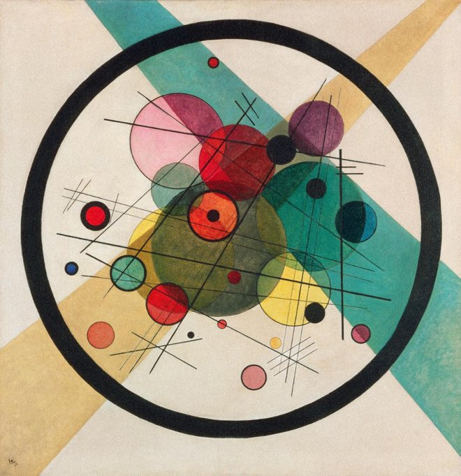 Circles in a Circle  - Wassily Kandinsky, 1923