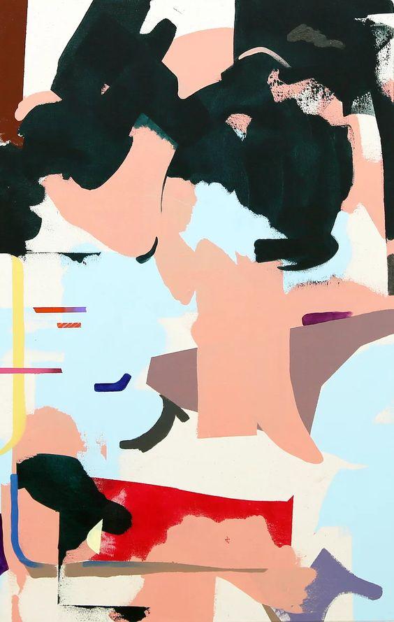 PAO LENG Kung_abstract painting_1